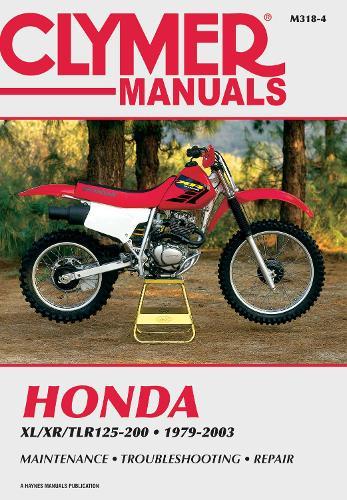 Honda XL/XR/TLR 125-200 1979-87, XR200R-03 (Paperback)