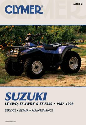 Suzuki King Quad Runner 250 87-98 ATV (Paperback)
