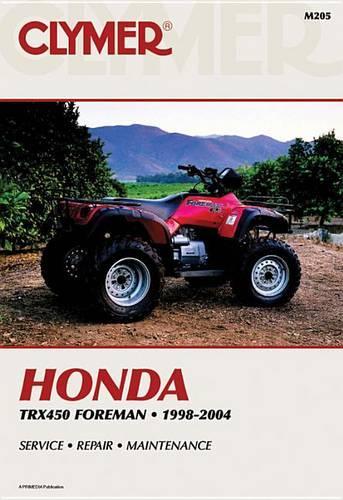 Honda TRX450 Foreman 1998-2004 (Paperback)
