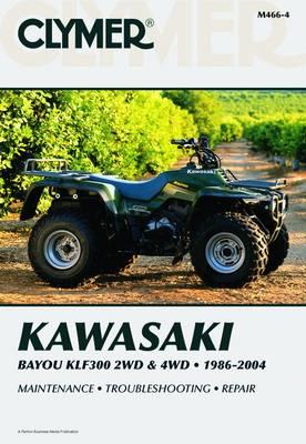 Clymer Kawasaki Bayou Klf300 2Wd (Paperback)