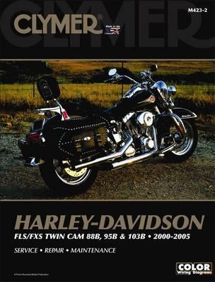 Clymer Harley-Davidson FLS/FXS 88 (Paperback)