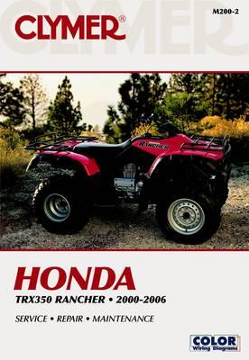 Honda TRX350 Rancher 00-06 (Paperback)