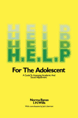 H.E.L.P.: A Guide to Assessing Academic and Social Adjustment (Paperback)