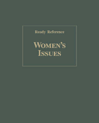Women's Issues (Ready Reference) (Hardback)