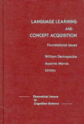 Language Learning and Concept Acquisition: Foundational Issues (Hardback)