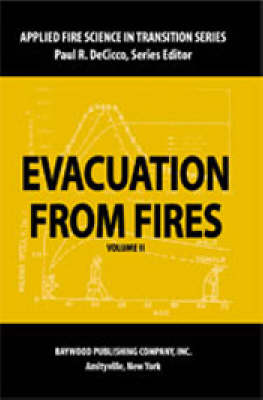 Evacuation from Fires - Applied Fire Science in Transition (Paperback)