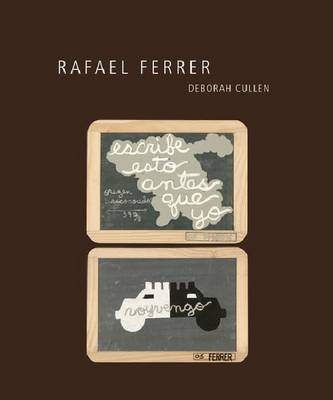 Rafael Ferrer - A Ver (Hardback)