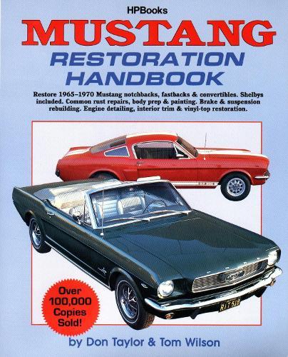 Mustang Restoration Handbook Hp029 (Paperback)