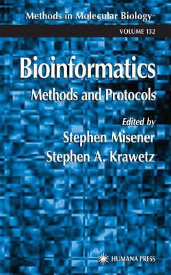 Bioinformatics Methods and Protocols - Methods in Molecular Biology 132 (Hardback)