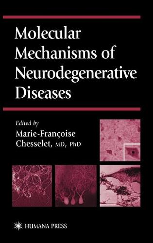 Molecular Mechanisms of Neurodegenerative Diseases - Contemporary Clinical Neuroscience (Hardback)