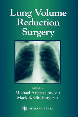Lung Volume Reduction Surgery (Hardback)