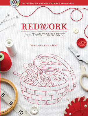 Redwork from The Workbasket: 100 Designs for Machine and Hand Embroidery (Paperback)
