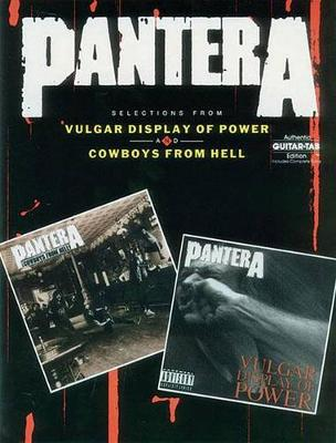 Vulgar Display of Power and Cowboys from Hell (Paperback)