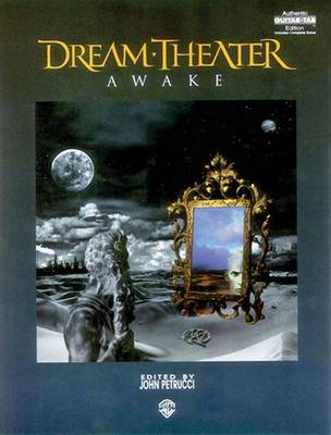 """Dream Theater"": Awake - Authentic Guitar-Tab Edition (Paperback)"