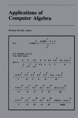 Applications of Computer Algebra (Hardback)