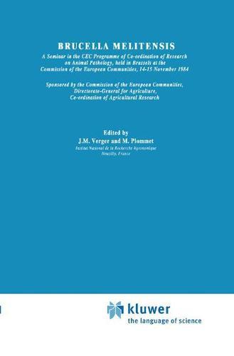 Brucella Melitensis - Current Topics in Veterinary Medicine 32 (Hardback)