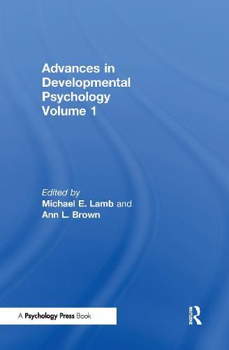 Advances in Developmental Psychology: Volume 1 (Hardback)
