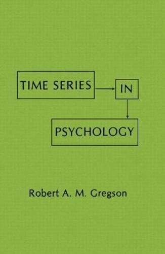Time Series in Psychology (Hardback)