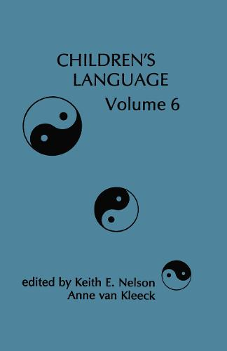 Children's Language: Volume 6 - Children's Language Series (Hardback)