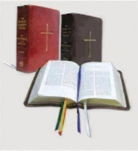 Book of Common Prayer and the Holy Bible NRSV (Leather / fine binding)
