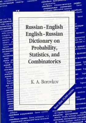 Russian-English English-Russian Dictionary on Probability, Statistics and Combinatorics (Paperback)