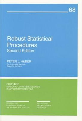 Robust Statistical Procedures - CBMS-NSF Regional Conference Series 27 (Paperback)