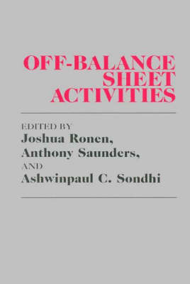 Off-Balance Sheet Activities (Hardback)