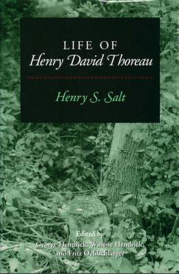 Life of Henry David Thoreau (Hardback)