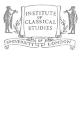 Roman Statutes (BICS Supplement 64.1 -64.2) - Bulletin of the Institute of Classical Studies Supplements No. 64 (Hardback)
