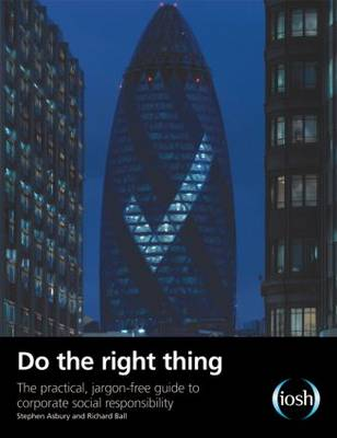 Do the Right Thing: The Practical, Jargon-free Guide to Corporate Social Responsibility (Paperback)