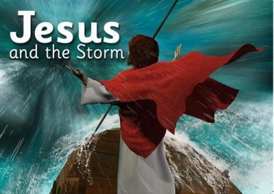 Jesus and the Storm - Bibleworld Books Series 1 1 (Paperback)