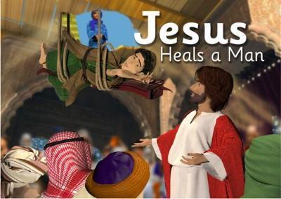 Jesus Heals a Man - Bibleworld Books Series 1 2 (Paperback)