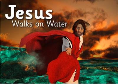 Jesus Walks on Water - Bibleworld Books Series 1 4 (Paperback)