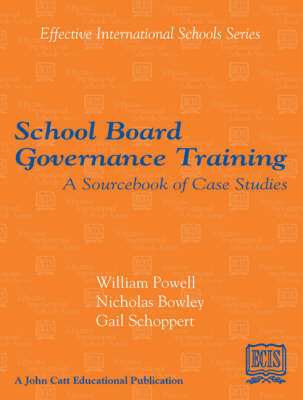 School Board Governance Training (Paperback)