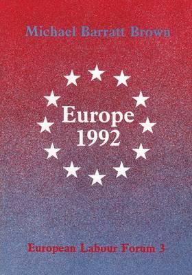 Europe 1992 (Paperback)