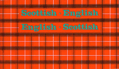 Scottish-English, English-Scottish (Paperback)