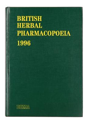 British Herbal Pharmacopoeia 1996 (Hardback)