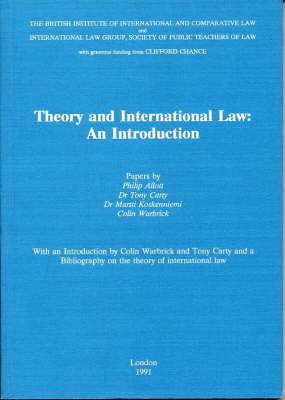 Theory and International Law: An Introduction (Paperback)