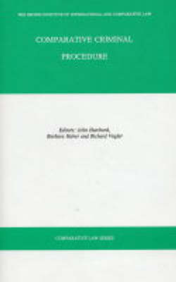 Comparative Criminal Procedure - Comparative law (Hardback)