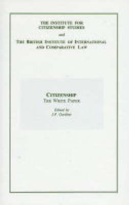 Citizenship - The White Paper (Hardback)
