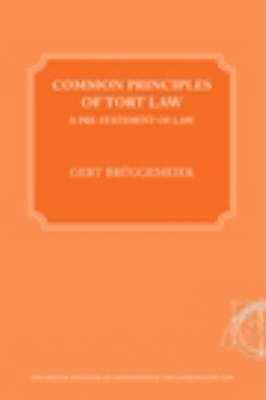 Common Principles of Tort Law (Paperback)