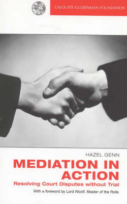 Mediation in Action: Resolving Court Disputes without Trial (Paperback)