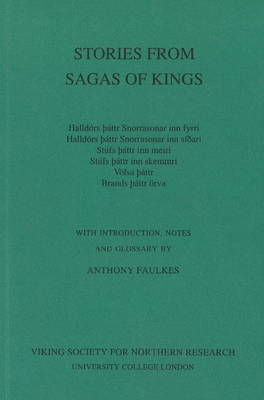 Stories from the Sagas of the Kings (Paperback)