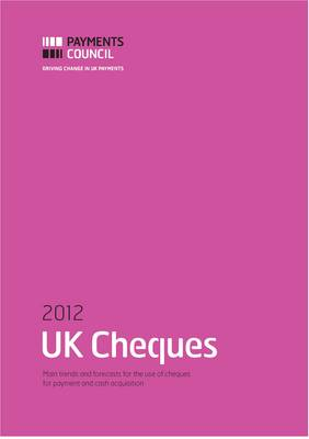 UK Cheques 2012 (Paperback)
