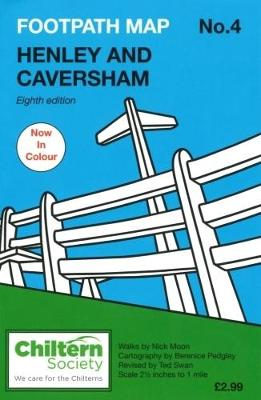 Footpath Map No. 4 Henley and Caversham - Chiltern Society Footpath Maps 4 (Paperback)