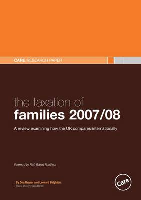 The Taxation of Families 2007/08 (Paperback)