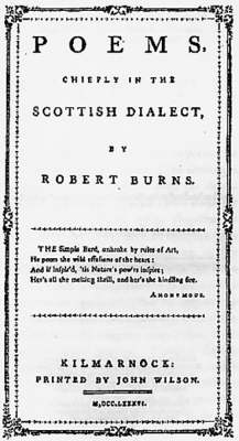 Poems Chiefly in the Scottish Dialect (Leather / fine binding)