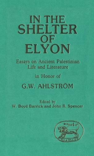 In the Shelter of Elyon: Essays on Ancient Palestinian Life and Literature in Honour of G.W.Ahlstrom - JSOT supplement 31 (Hardback)