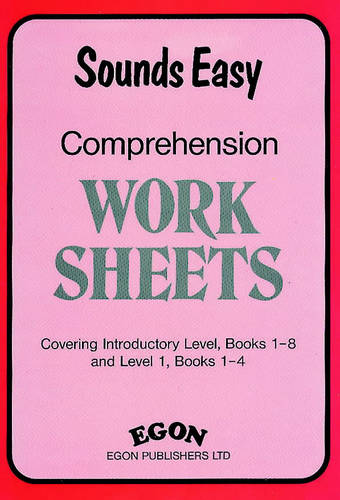 Sounds Easy Comprehension Worksheets: Covers Intro. Level Bks 1-8 and Level 1 Bks 1-4 - Sounds Easy (Spiral bound)