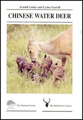 Chinese Water Deer - Mammal Society Species Series (Paperback)